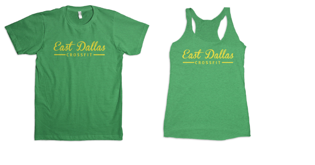 """""""Mean Green"""" Limited Release Shirts & Tanks"""